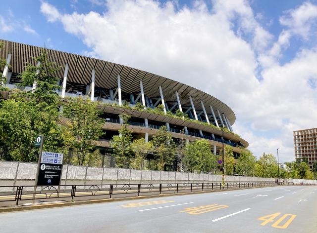国立競技場の画像